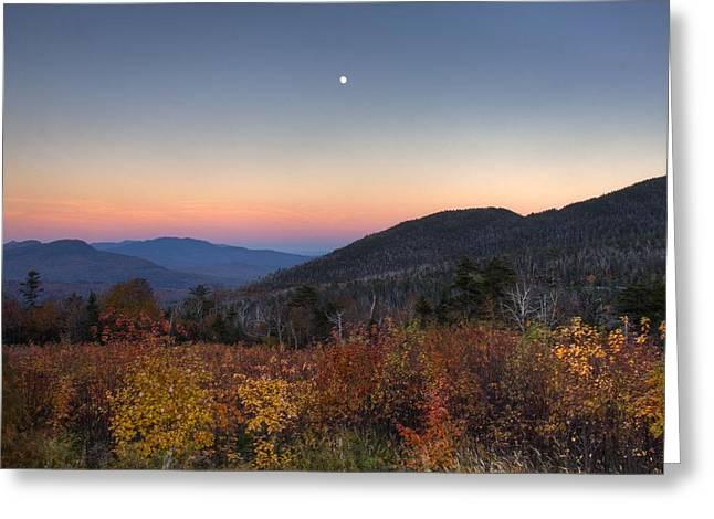 Mountain Twilight Greeting Card by Jim Neumann