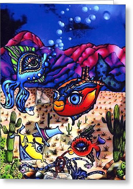 Pacifica In The Desert Greeting Card