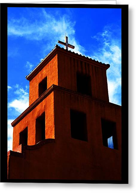 Greeting Card featuring the photograph  Santuario De Guadalupe by Susanne Still