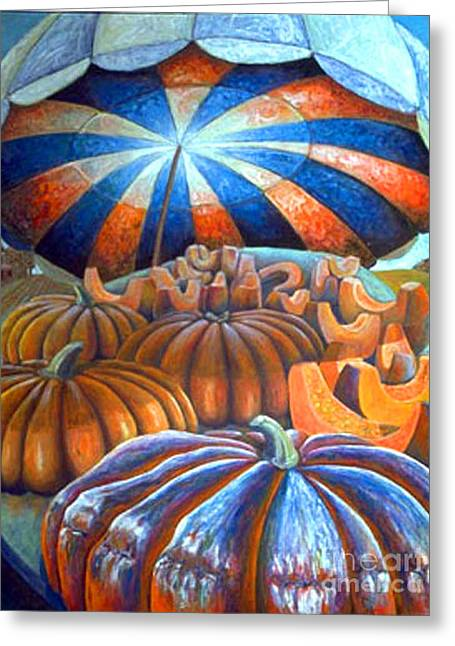 01014 Pumpkin Harvest Greeting Card