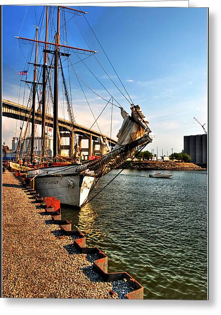026 Empire Sandy Series  Greeting Card by Michael Frank Jr