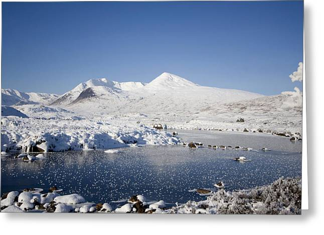 Rannoch Moor Greeting Card by Pat Speirs