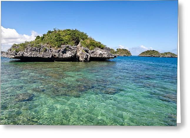 100 Islands National Park Greeting Card