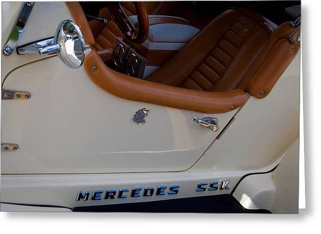 1929 Mercedes Ssk Gazelle Roadster Greeting Card