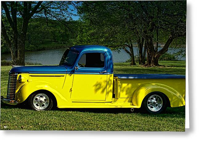 1940 Chevrolet Pickup Truck Greeting Card by Tim McCullough