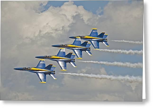 2012 U.s. Navy Blue Angels Greeting Card