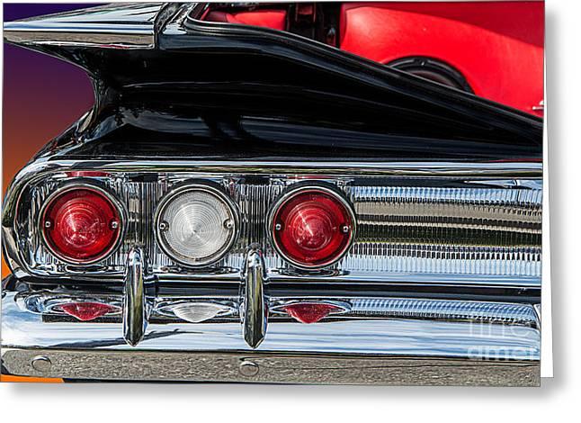 60 Chev Impala Greeting Card by Jim  Hatch