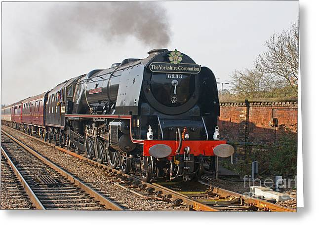 6233 Duchess Of Sutherland Greeting Card