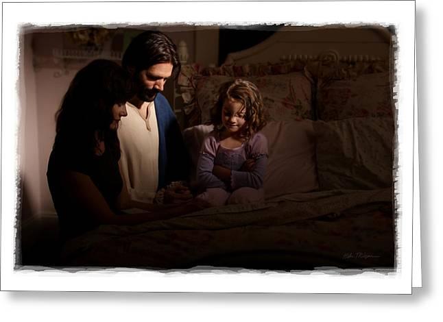 A Daughters Prayer Greeting Card