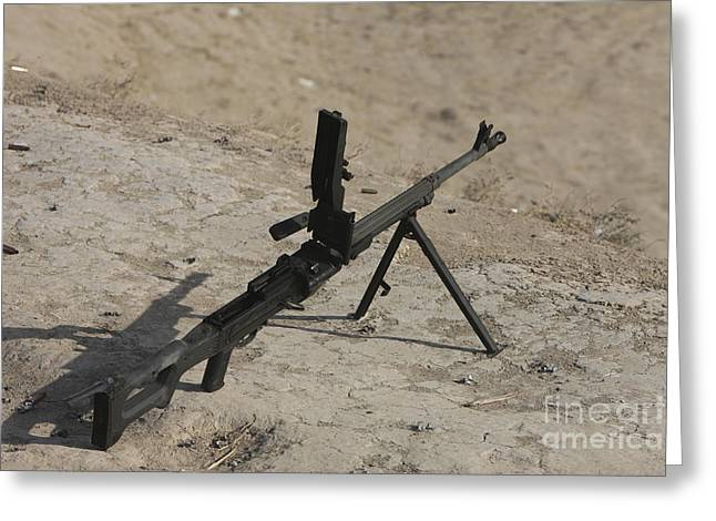 A Pk 7.62 Mm General-purpose Machine Greeting Card by Terry Moore