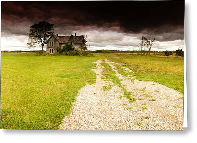 Abandoned Farmhouse Greeting Card by Cale Best