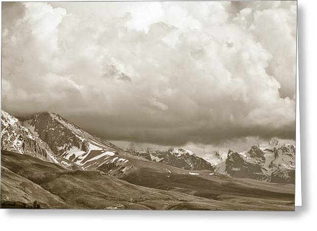 Aladaglar National Park Greeting Card