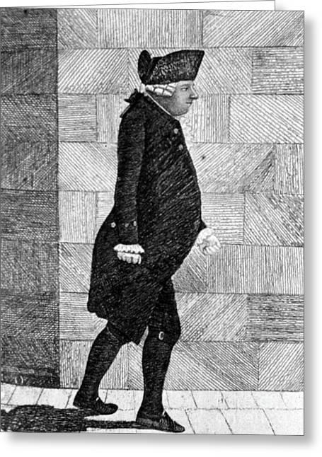 Alexander Monro II, Scottish Anatomist Greeting Card by Science Source