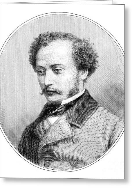 Alexandre Dumas Fils Greeting Card by Granger
