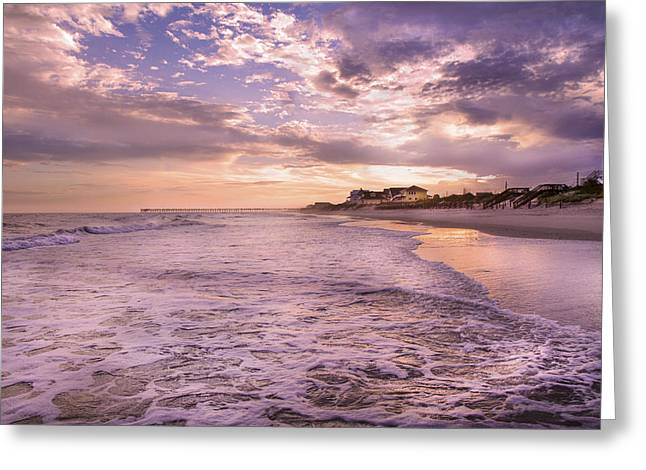 Always Remember The Sunset Greeting Card by Betsy Knapp