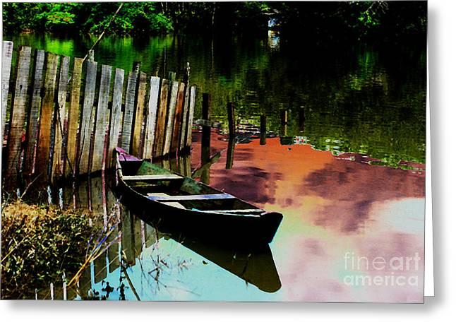 Amazon River Greeting Card