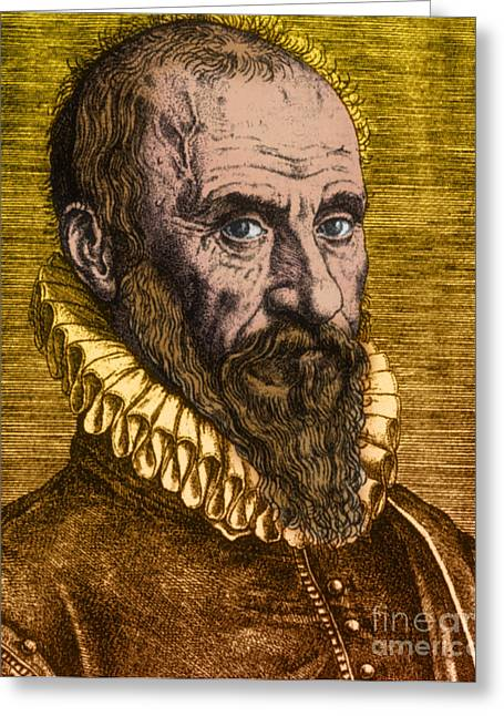 Ambroise Par�, French Surgeon Greeting Card by Science Source