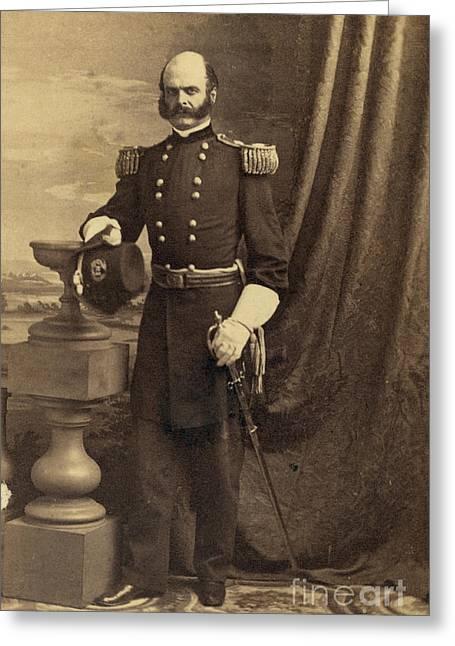 Ambrose Burnside, Union General Greeting Card