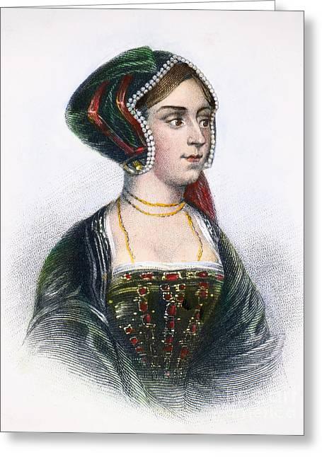 Anne Boleyn (1507-1536) Greeting Card