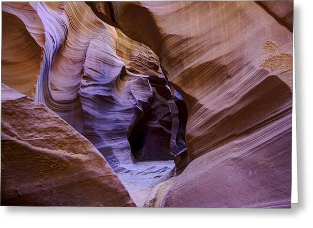 Antelope Canyon Greeting Card