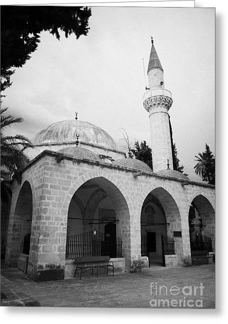 arabahmet mosque in nicosia TRNC turkish republic of northern cyprus Greeting Card by Joe Fox