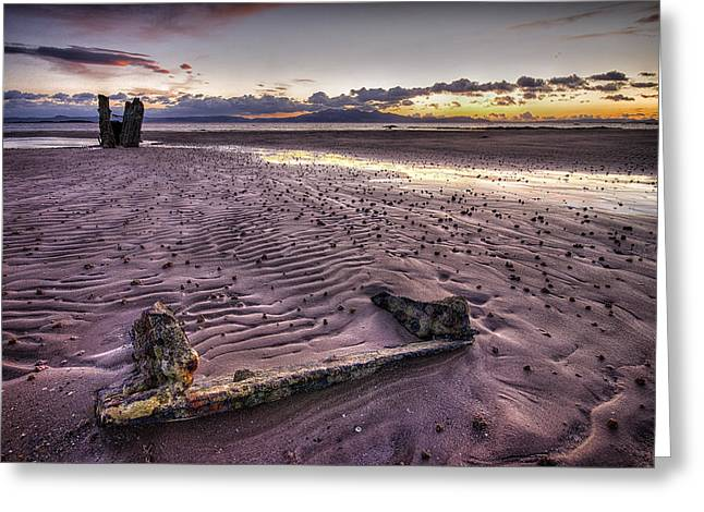 Ardrossan Sunset Greeting Card