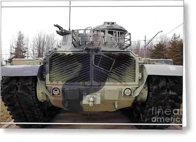 Armored Tank Greeting Card