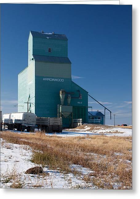 Arrowwood Alberta Greeting Card by Jill Lassaline