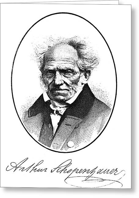 Arthur Schopenhauer Greeting Card by Granger