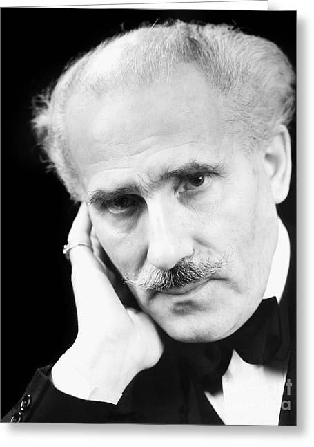 Arturo Toscanini Greeting Card by Granger