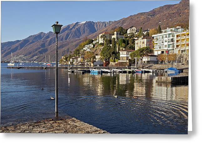 Ascona - Lake Maggiore Greeting Card by Joana Kruse