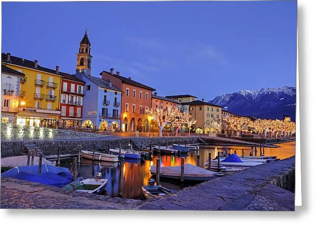 Ascona Greeting Card