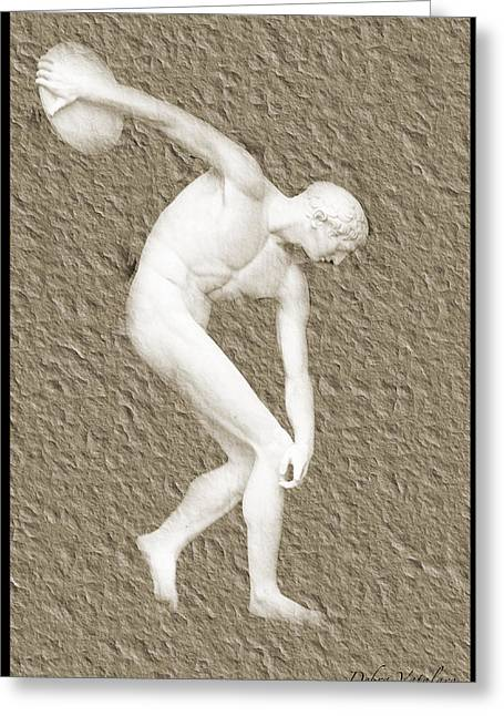 Athlete 2 Greeting Card by Debra     Vatalaro