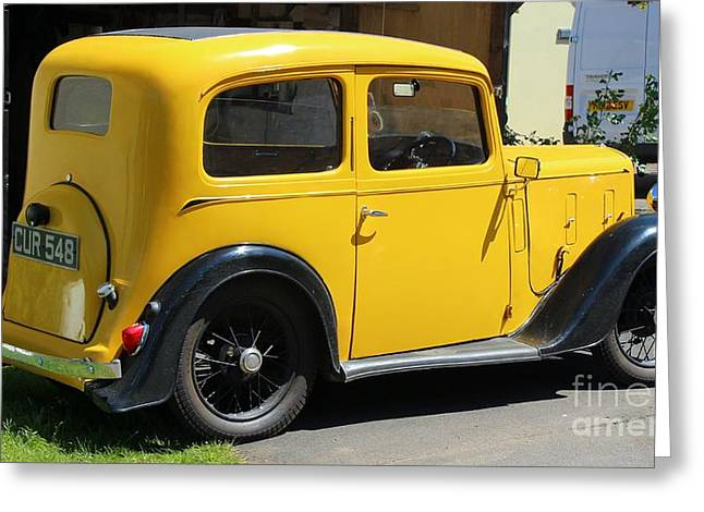 Austin Healey Seven 1937 Greeting Card by Rene Triay Photography