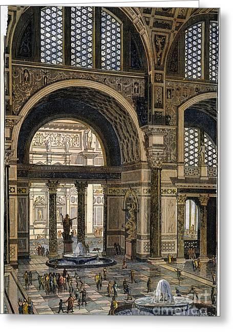 Baths Of Caracalla, Rome Greeting Card