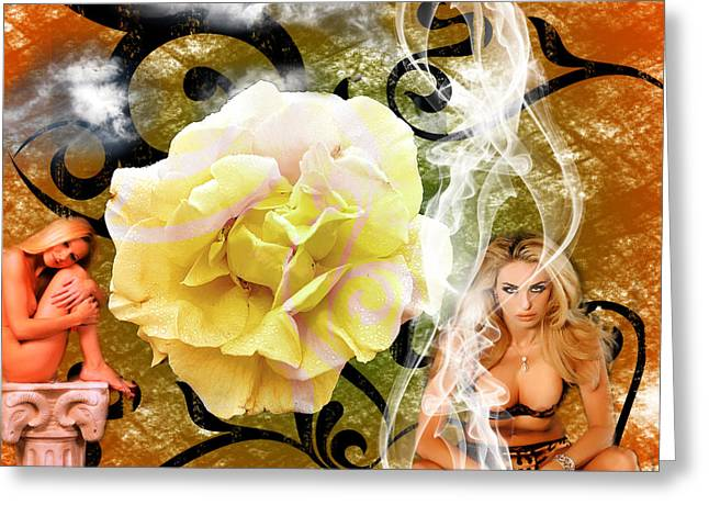 Greeting Card featuring the photograph Beauty by Clayton Bruster