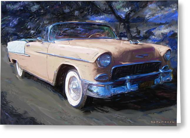 Bel Air Nocturne Greeting Card