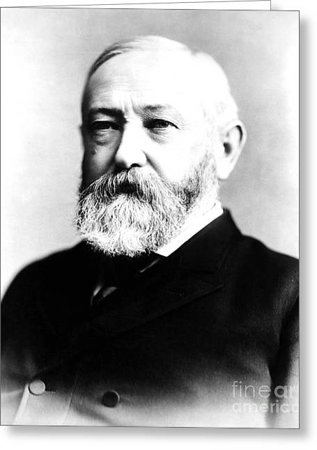 Benjamin Harrison, 23rd American Greeting Card by Photo Researchers