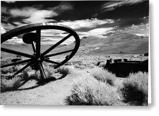 Big Wheel Bodie Greeting Card