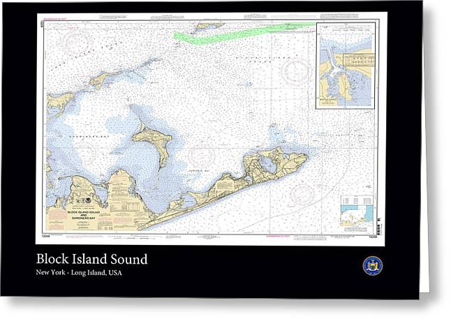 Block Island Sound Greeting Card by Adelaide Images