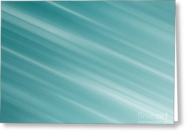Blue Background Greeting Card by Blink Images