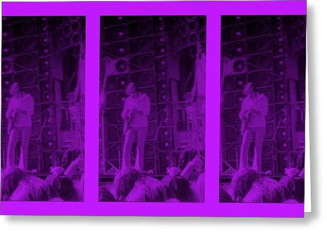 Bob Weir Grateful Dead  Dsm Ia Greeting Card by Tim Donovan