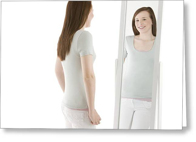 Body Image Greeting Card by