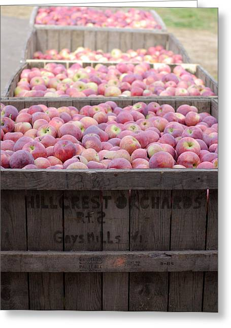 Greeting Card featuring the photograph Bountiful by Linda Mishler