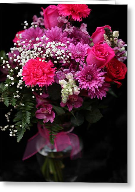 Bouquet Of Love 2 Greeting Card