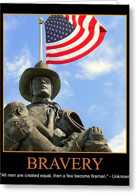 Bravery Greeting Card by PMG Images