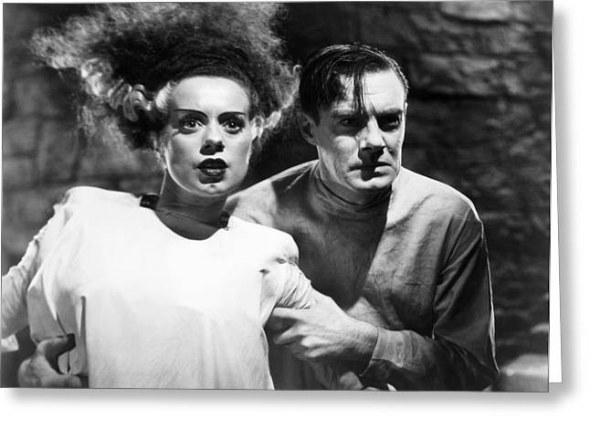 Bride Of Frankenstein, 1935 Greeting Card by Granger
