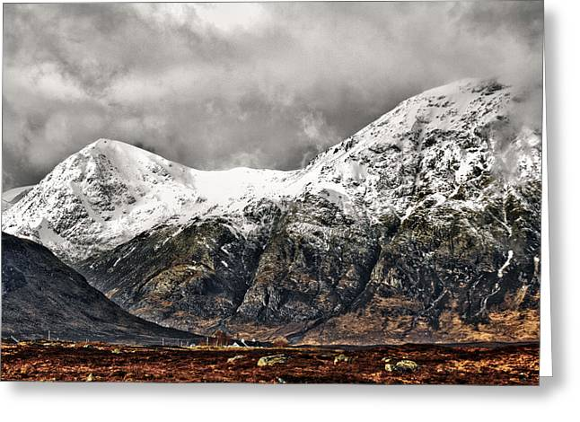 Buachaille Etive Mor Greeting Card by Fiona Messenger