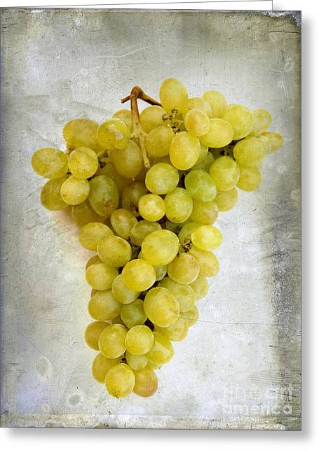 Bunch Of Grapes Greeting Card by Bernard Jaubert