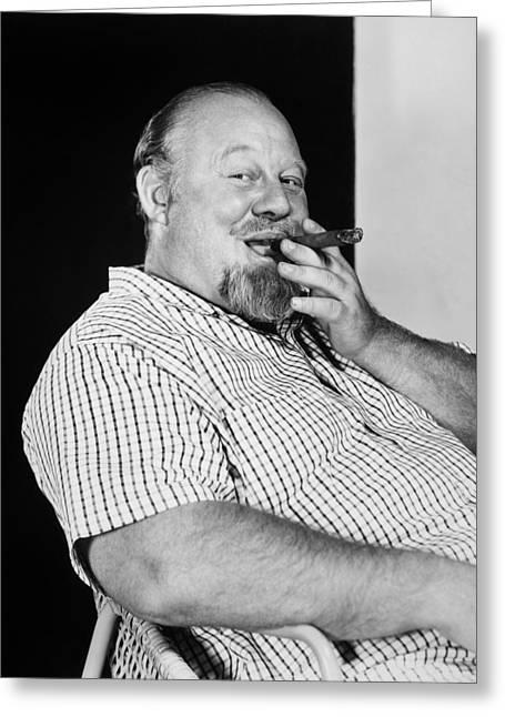 Burl Ives (1909-1995) Greeting Card